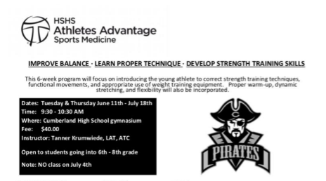 HSHS Athletes Advantage Class