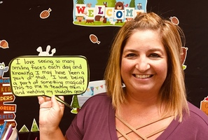Cumberland Elementary School's Featured Teacher of the Week