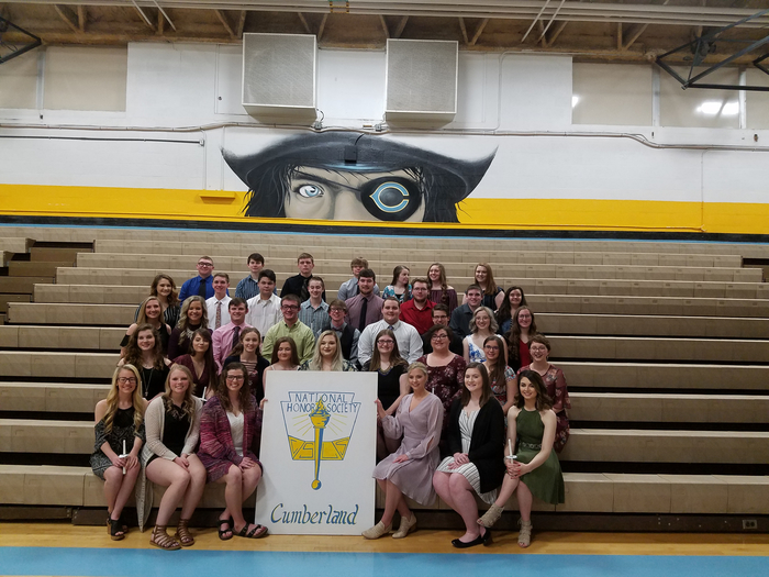 2018/2019 Cumberland High School National Honor Society members