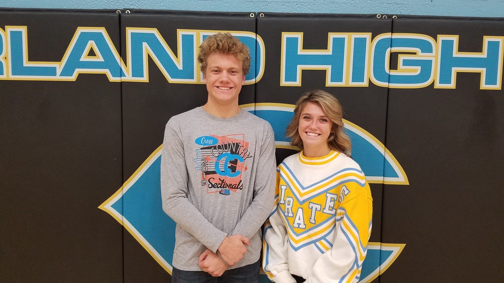 Michael Carpenter and Jasmyn Dittamore will represent Cumberland High School at the IHSA cross country state meet