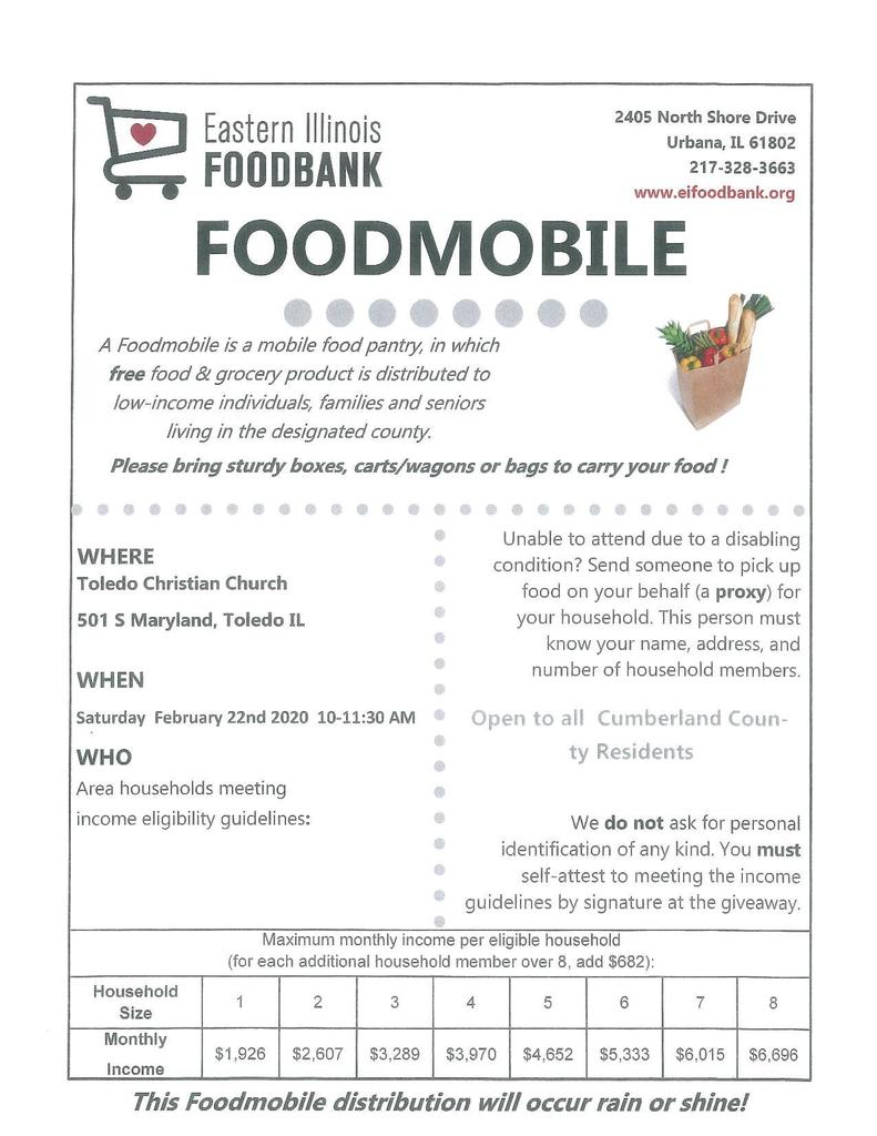Foodmobile info flyer