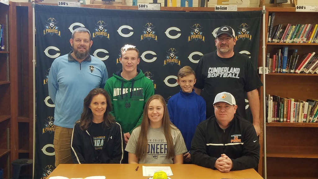 CHS senior Micaela Bradley signs her letter of intent to play softball at Marietta College in Ohio