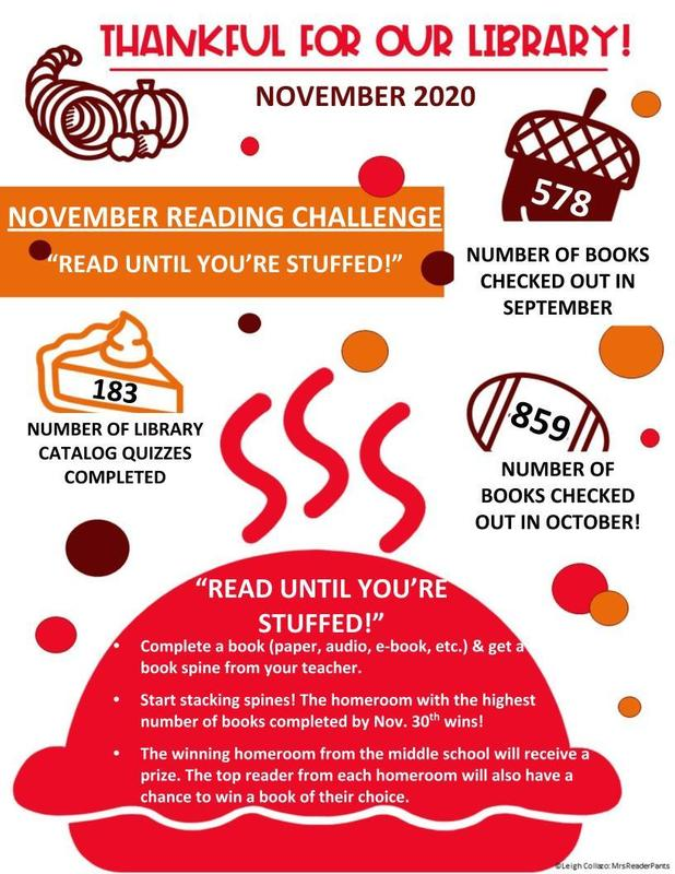 Middle School Reading Challenge